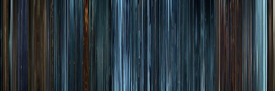 Moviebarcode: TRON: Legacy (2010) by moviebarcode