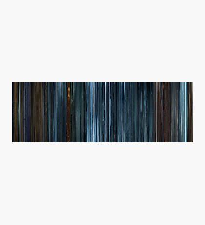 Moviebarcode: TRON: Legacy (2010) Photographic Print