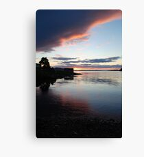Sunset from Poolewe Canvas Print