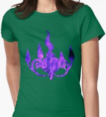 Chandelure used shadow ball Womens Fitted T-Shirt