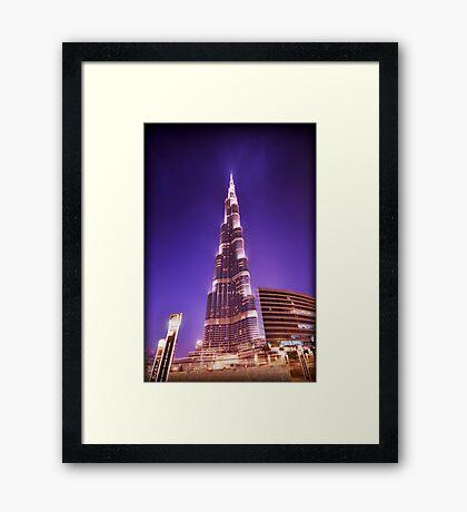 The Burj Framed Print