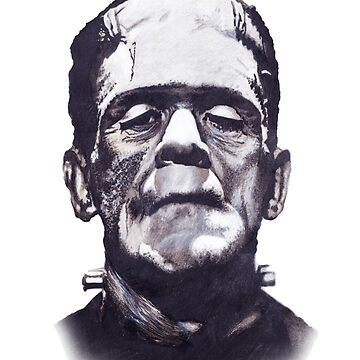 Frankenstein's Monster Variant for White Background Clothing and Books by TwoPopes