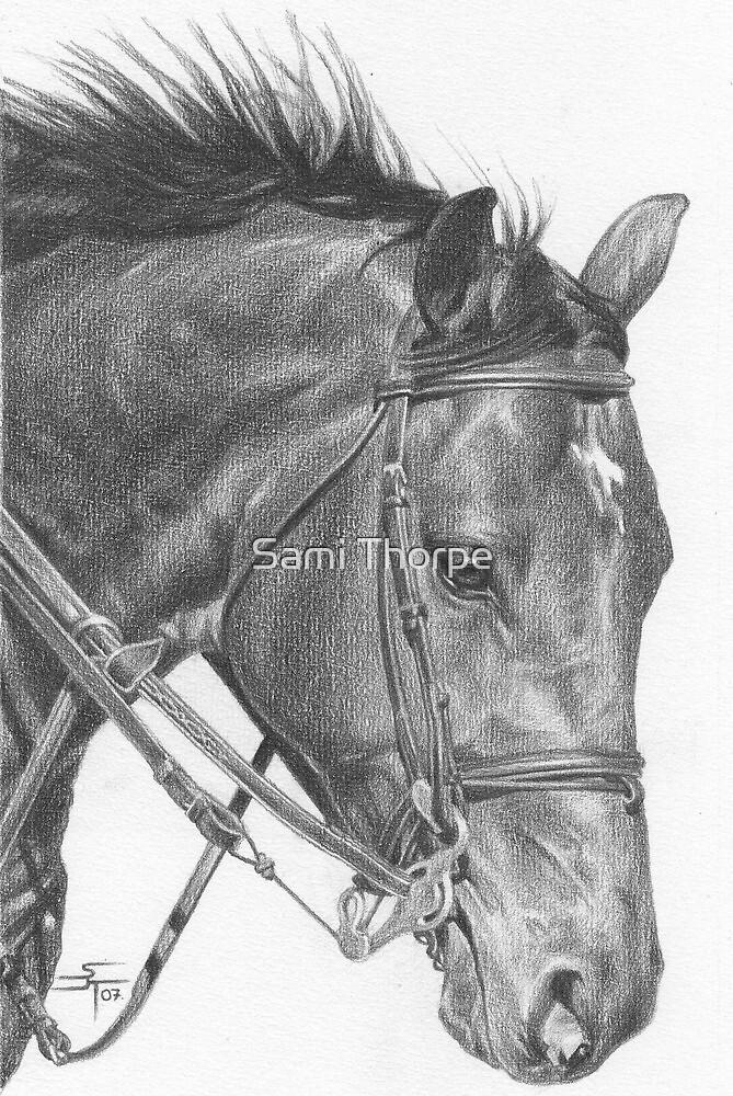 A4 Portrait Commission (Travis) by Sami Thorpe