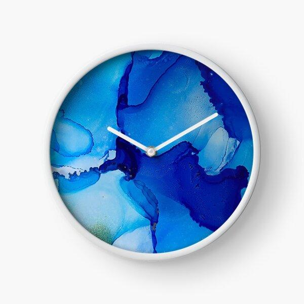 Inking in Blues Clock