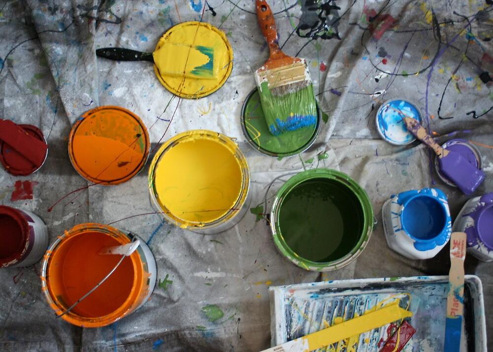 Many Paints by Nik Korba