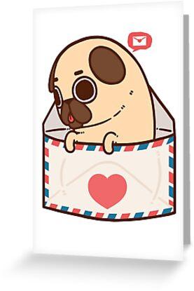 Du hast eine E-Mail bekommen von Puglie  Pug