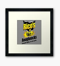 Rico's Roughnecks Framed Print