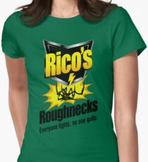 Rico's Roughnecks Women's Fitted T-Shirt