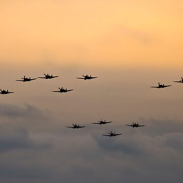 Spitfire - The Battle of Britain Formation by PhotoLouis