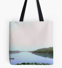 Morning waters Tote Bag