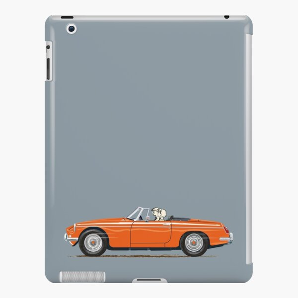Blaze Red MGB – a Classic British Sports Car iPad Snap Case