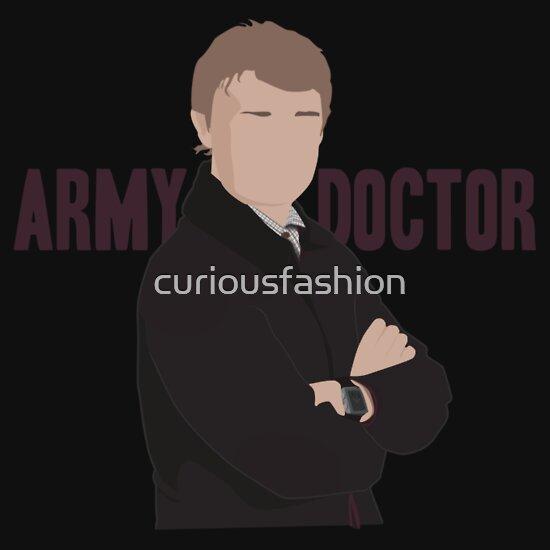 TShirtGifter presents: Sherlock - Army Doctor