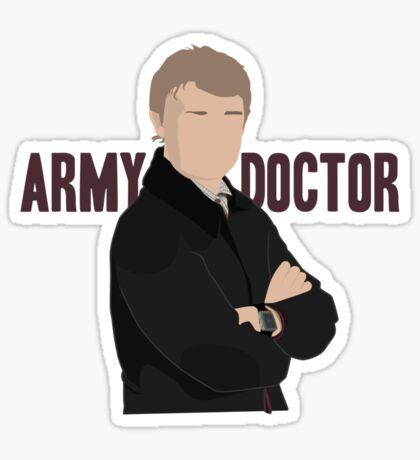 Sherlock - Army Doctor Sticker