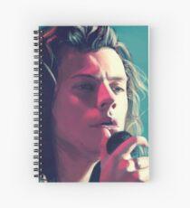 on stage Spiral Notebook