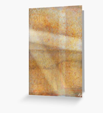 The Softness Of Light Greeting Card