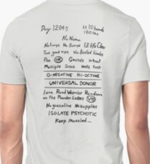 Mad Max: Fury Road - Back TATTOO Unisex T-Shirt