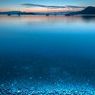 Night Shore at Montegue Harbour by toby snelgrove  IPA