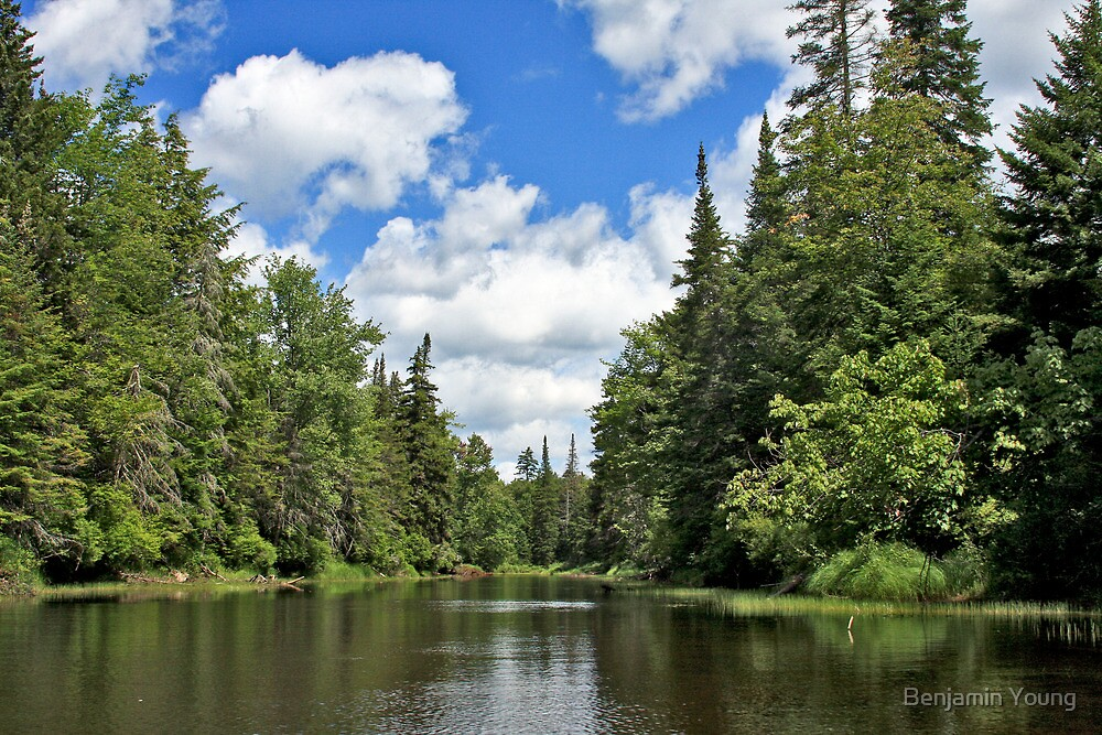 Moose River by Benjamin Young