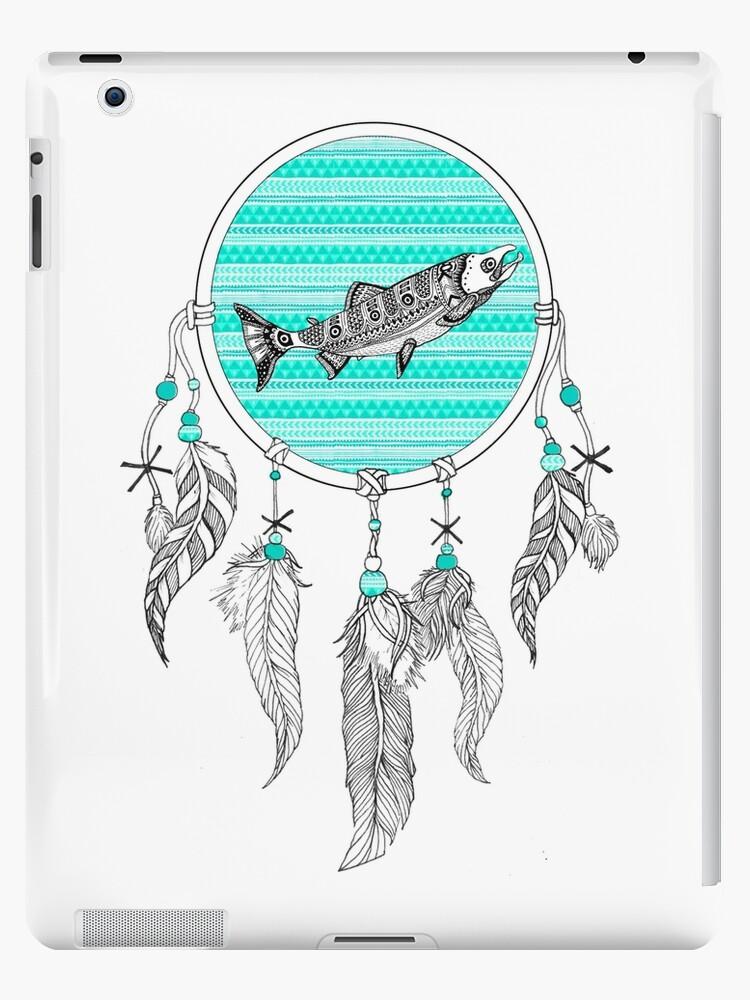 Fish Dream Catcher by sophonarope