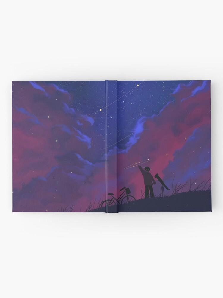 Alternate view of us, amongst the stars Hardcover Journal