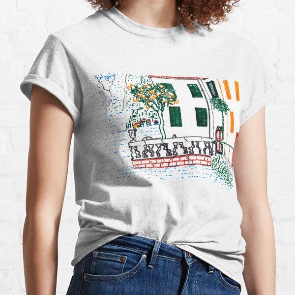 Lago di Como, Lake Como, Italia Classic T-Shirt