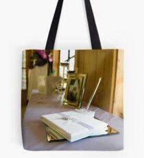 Guest book Tote Bag