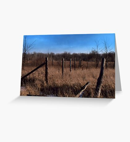 A Simple Landscape Greeting Card
