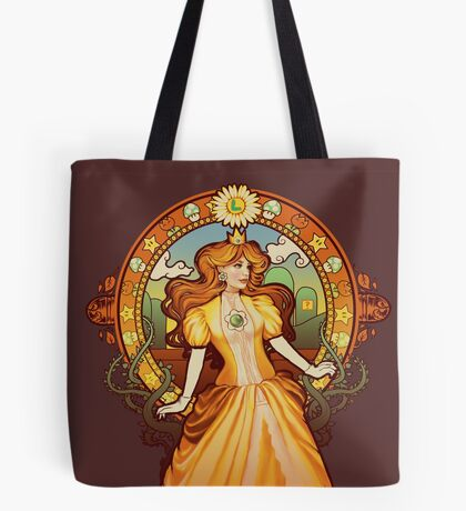 Daisy Nouveau Tote Bag