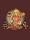 Peach's Pit Stop Diner by MeganLara