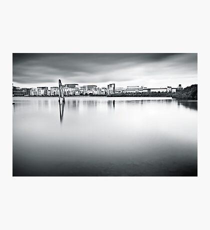 Urban Stillness Photographic Print