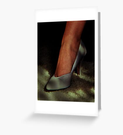 A Shoe Greeting Card