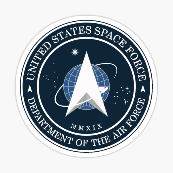 US Space Force Logo Sticker
