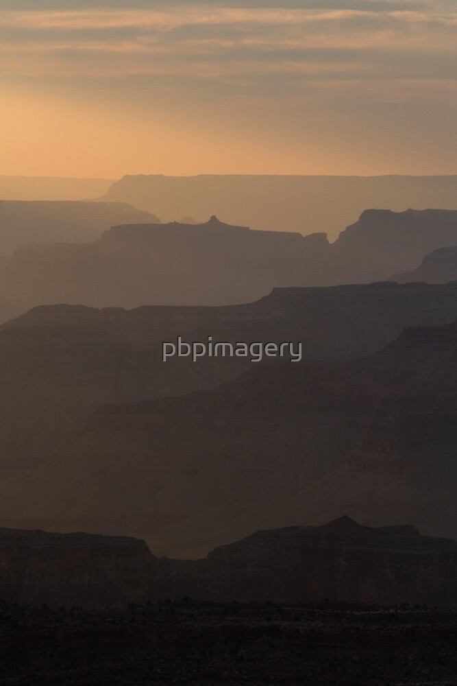 Grand Canyon Sunset by pbpimagery