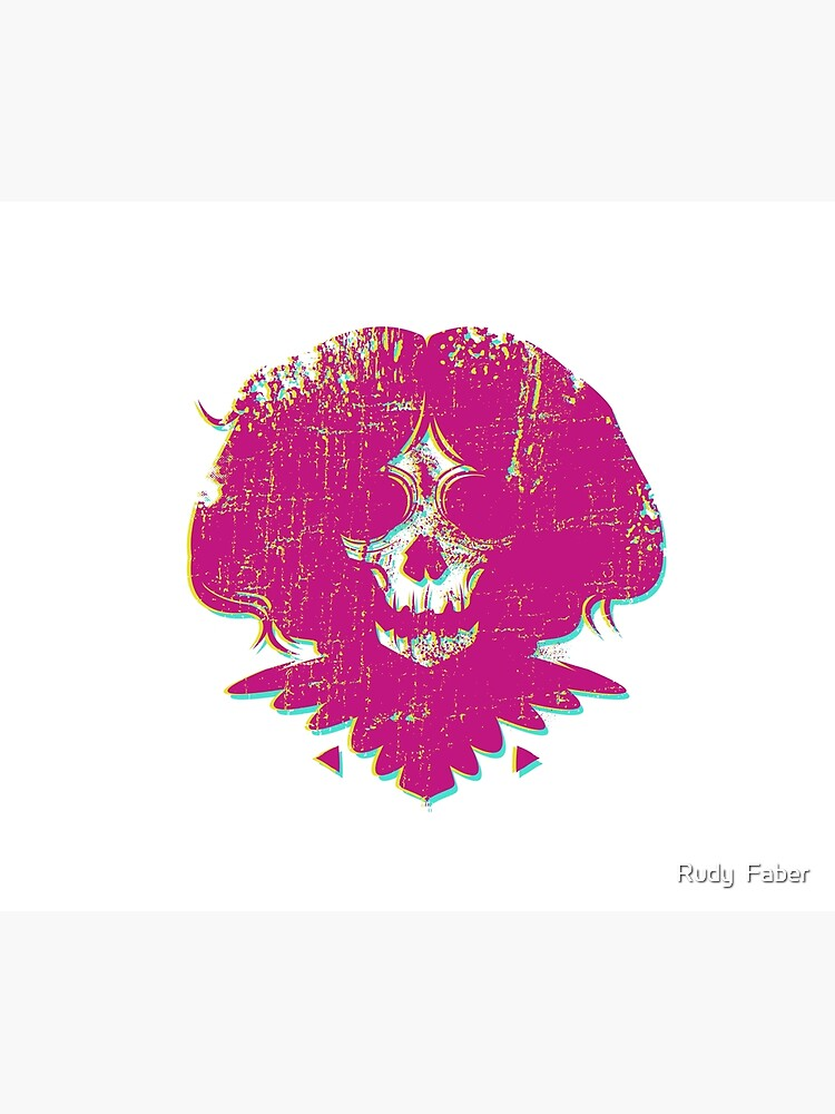 Ghost Face - Pink by rudyfaber