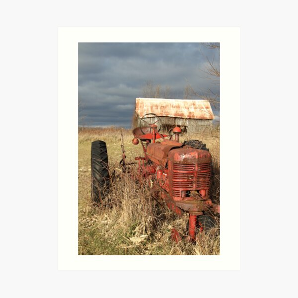Down on the Farm Art Print