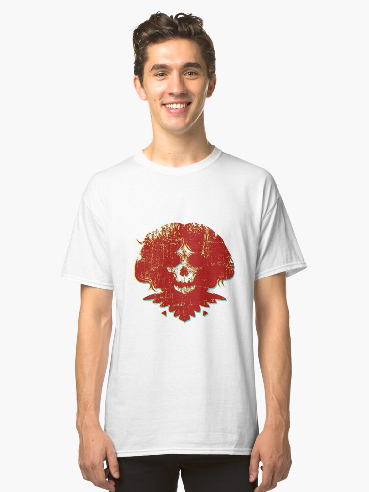 Alternate view of Ghostface - Red Classic T-Shirt