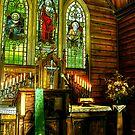 St John's Lutheran Church - Minyip by Jennifer Craker