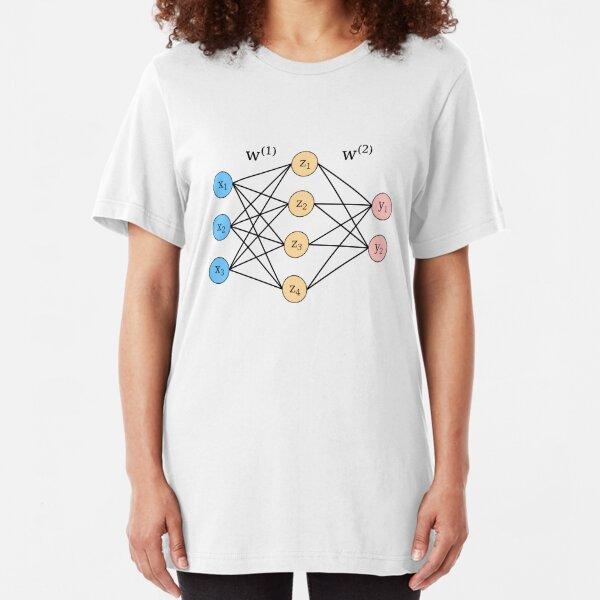 Neural network Slim Fit T-Shirt
