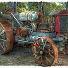 McCormich Deetering Tractor by Jennifer Craker