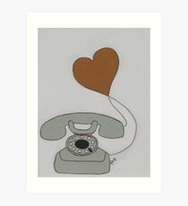 Love Call Art Print