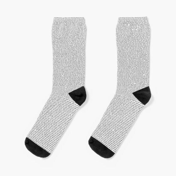 The Entire Script of shrek -  Socks