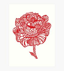 rose'red Art Print