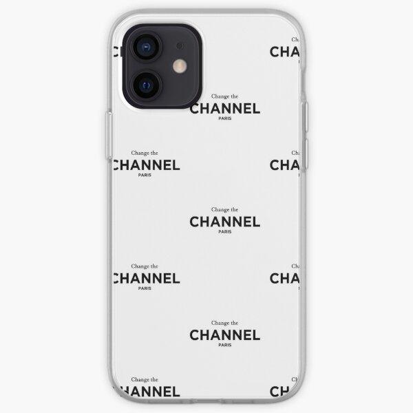 Changez de chaîne Paris. T-shirt de mode classique Coque souple iPhone
