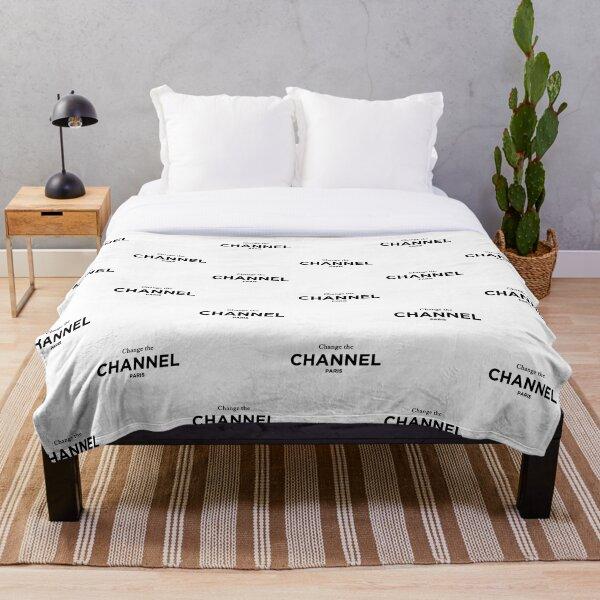 Change the Channel Paris. Classic Fashion T-Shirt Throw Blanket