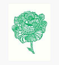 rose'green Art Print