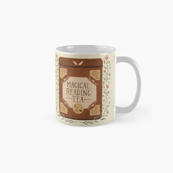 Magical Reading Tea Classic Mug