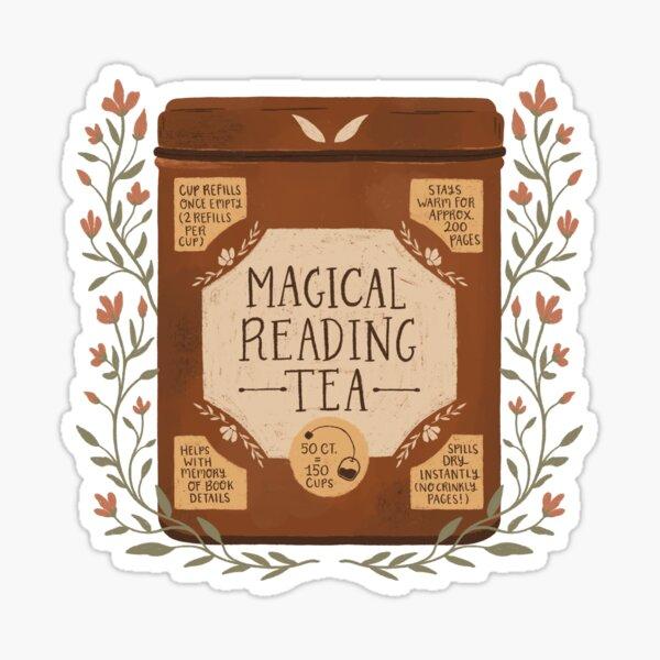 Magical Reading Tea Sticker