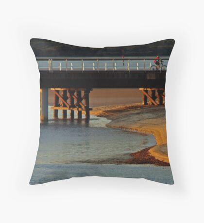 The New Barwon Heads Bridge Throw Pillow