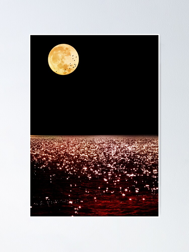 Alternate view of Sea Moon Poster