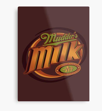 Mudder's Milk Metal Print